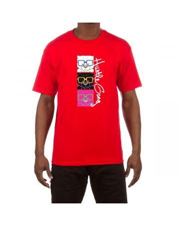 3 Levels SS Tee (Red)