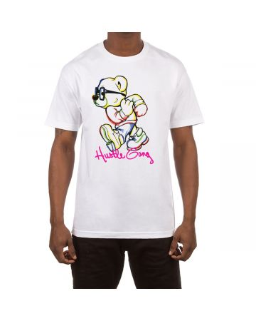 Front To Back SS Tee (White)