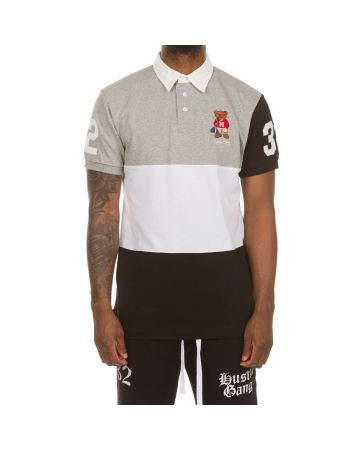 Pep Rally SS Polo (Heather Pewter Grey)