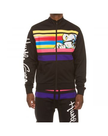 H-Bear Pull Up Track Jacket