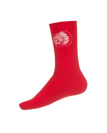 Big Chief Socks (Racing Red)
